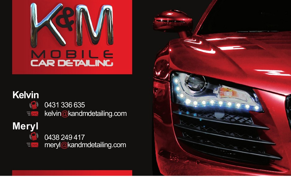 Auto Detailing Business Cards Inspirational K&m Mobile Car Detailing In Ballajura Perth Wa Car Wash
