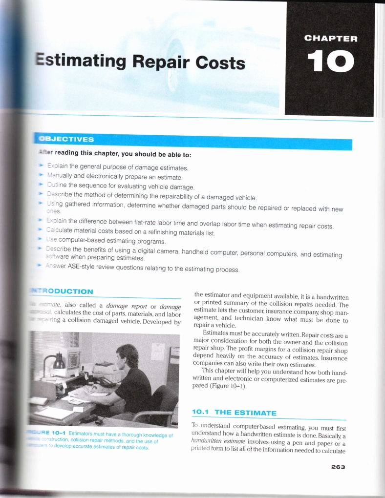 Auto Repair Estimate Template New 5 Auto Repair Estimate Templates Pdf