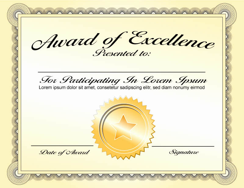 Award Certificate Template Word Best Of Free Download Award Certificate Template Samples Thogati