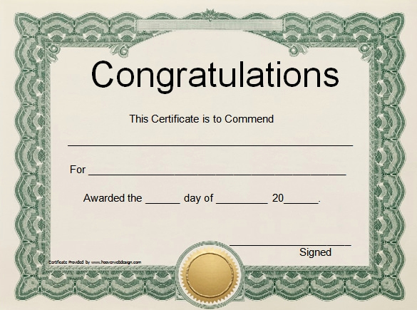 Award Certificate Template Word Best Of Word Certificate Template 49 Free Download Samples