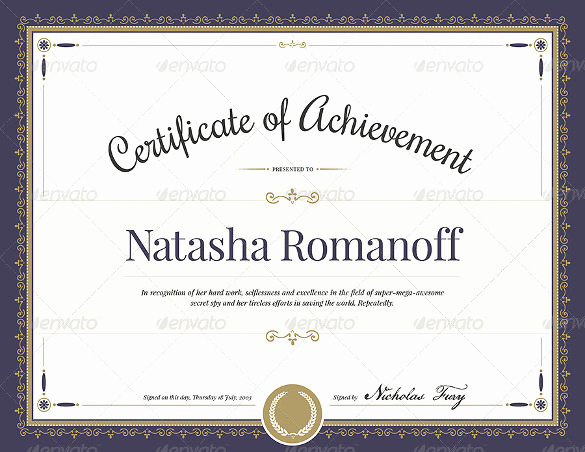 Award Certificate Template Word Inspirational 55 Printable Award Certificate Templates Word Psd Ai