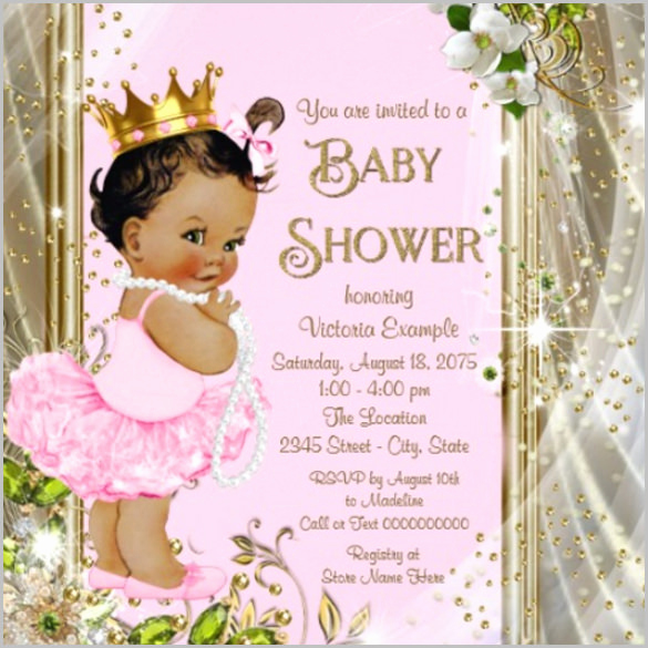 Baby Shower Invitations Templates Editable Beautiful Baby Shower Invitation Template 29 Free Psd Vector Eps