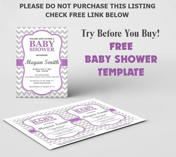 Baby Shower Invitations Templates Editable Elegant Free Baby Shower Invitation Template Diy Editable