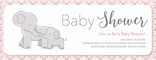 Baby Shower Invitations Templates Editable Elegant Free Baby Shower Invitations