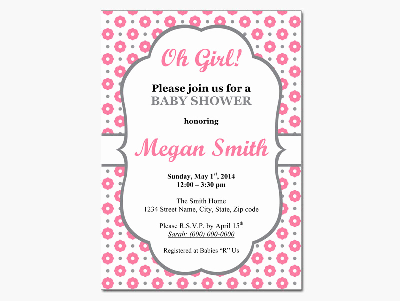Baby Shower Invitations Templates Editable Fresh Editable Baby Shower Invitations Templates Party Xyz