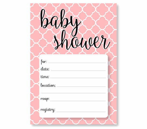 Baby Shower Invite Template Awesome Free Baby Shower Invitation Templates Printable Baby