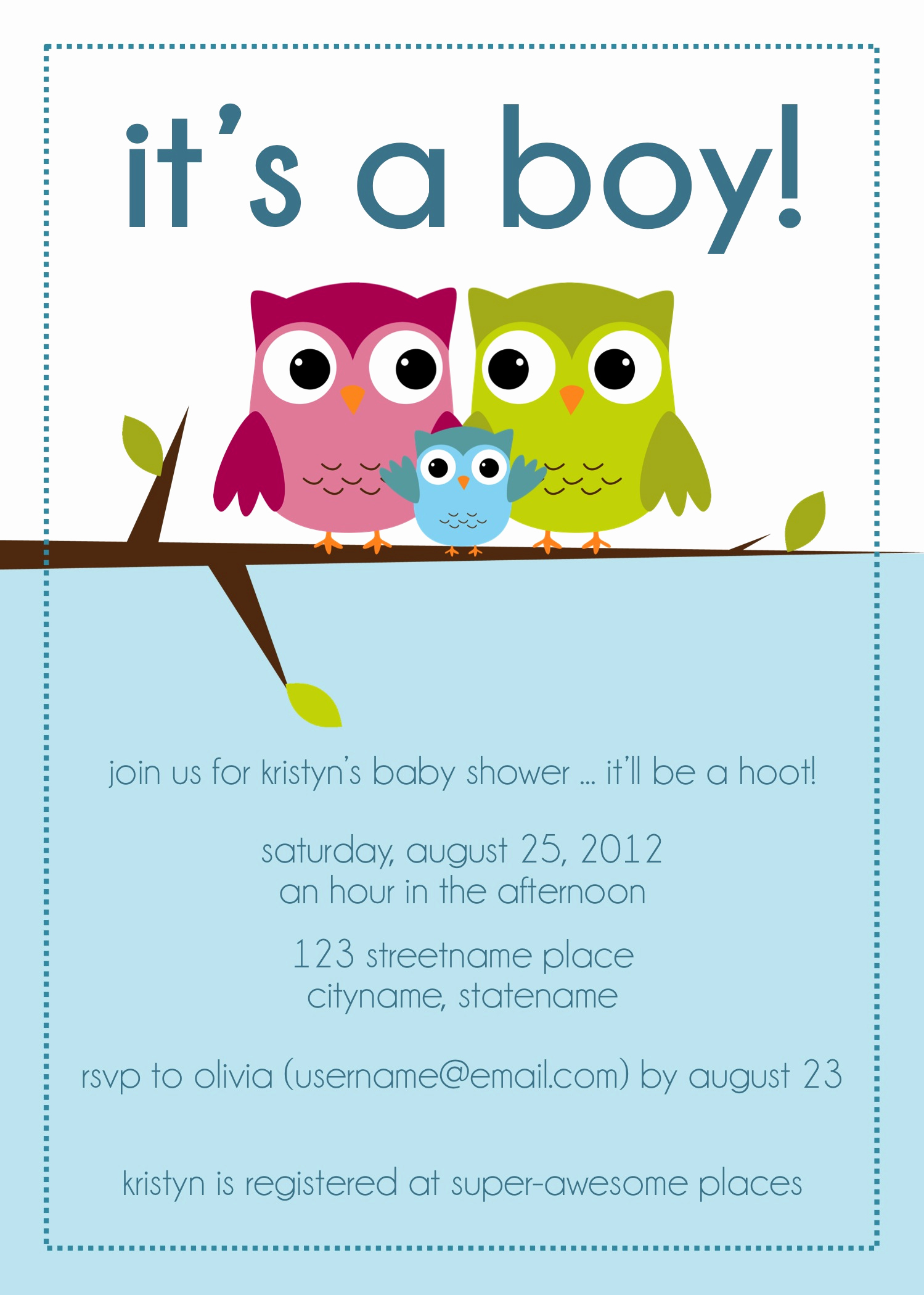 Baby Shower Invite Template Awesome Mon Petit Treat