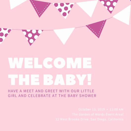 Baby Shower Invite Template Elegant Customize 832 Baby Shower Invitation Templates Online Canva