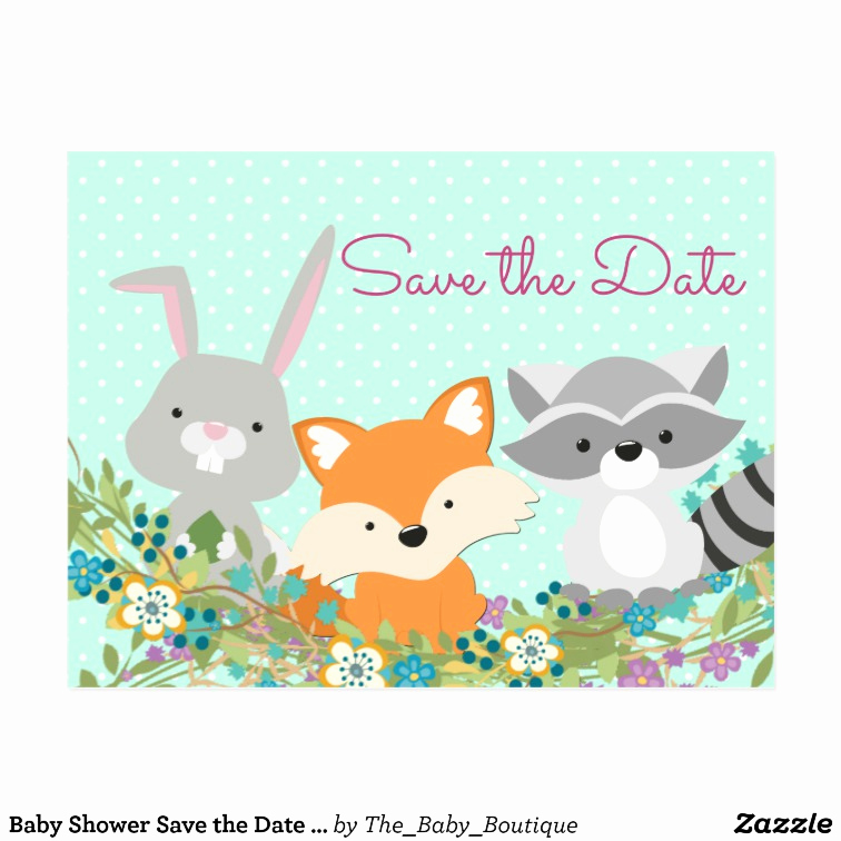 Baby Shower Save the Dates Best Of Baby Shower Save the Date Postcard