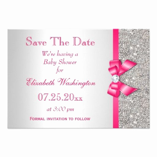 Baby Shower Save the Dates Luxury 1000 Images About Diamonds & Pearls Baby Shower On