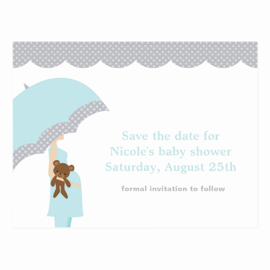 Baby Shower Save the Dates New Stick Figure Bride and Groom Postcards