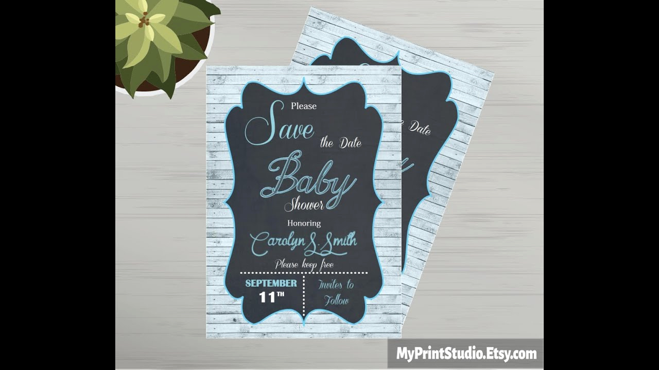 Baby Shower Save the Dates Unique Save the Date Baby Shower Card Template Made In Ms Word