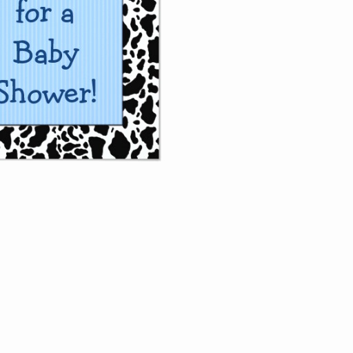 Baby Shower Save the Dates Unique Western Baby Shower Save the Date Blue Card