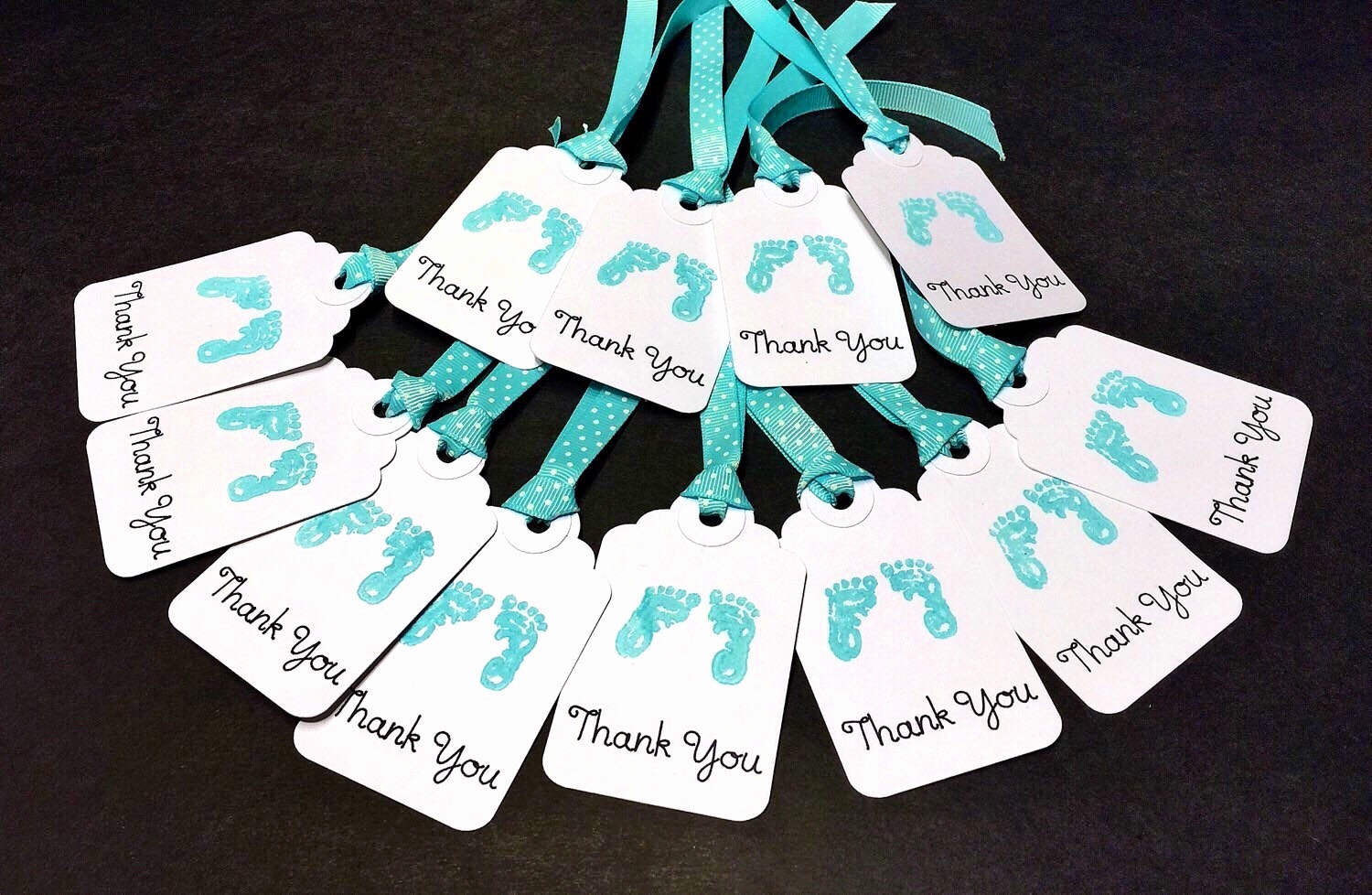 Baby Shower Thank You Tags Beautiful Baby Shower Tags Favor Tags 12 Thank You Tags Baby