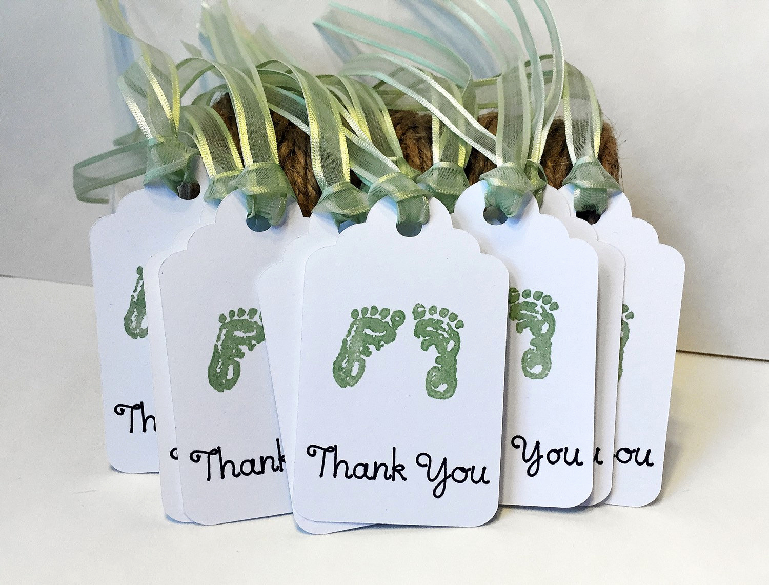 Baby Shower Thank You Tags Unique Baby Shower Tags Favor Tags 12 Thank You Tags Baby