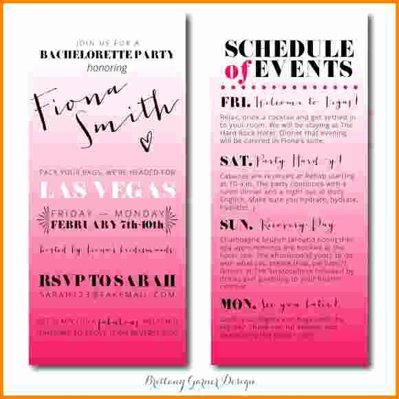 Bachelorette Party Itinerary Template Elegant 17 Best Ideas About Bachelorette Itinerary On Pinterest