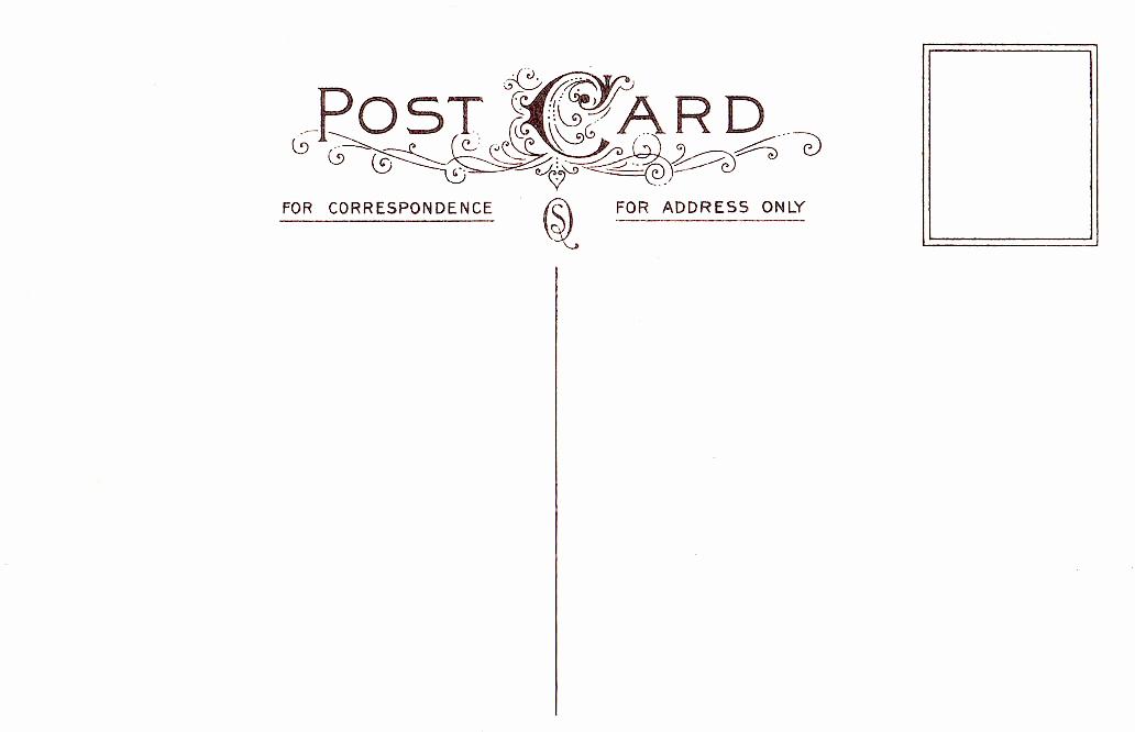 Back Of Postcard Template Fresh Download Template for Postcard Back Free Free Walkerhelper