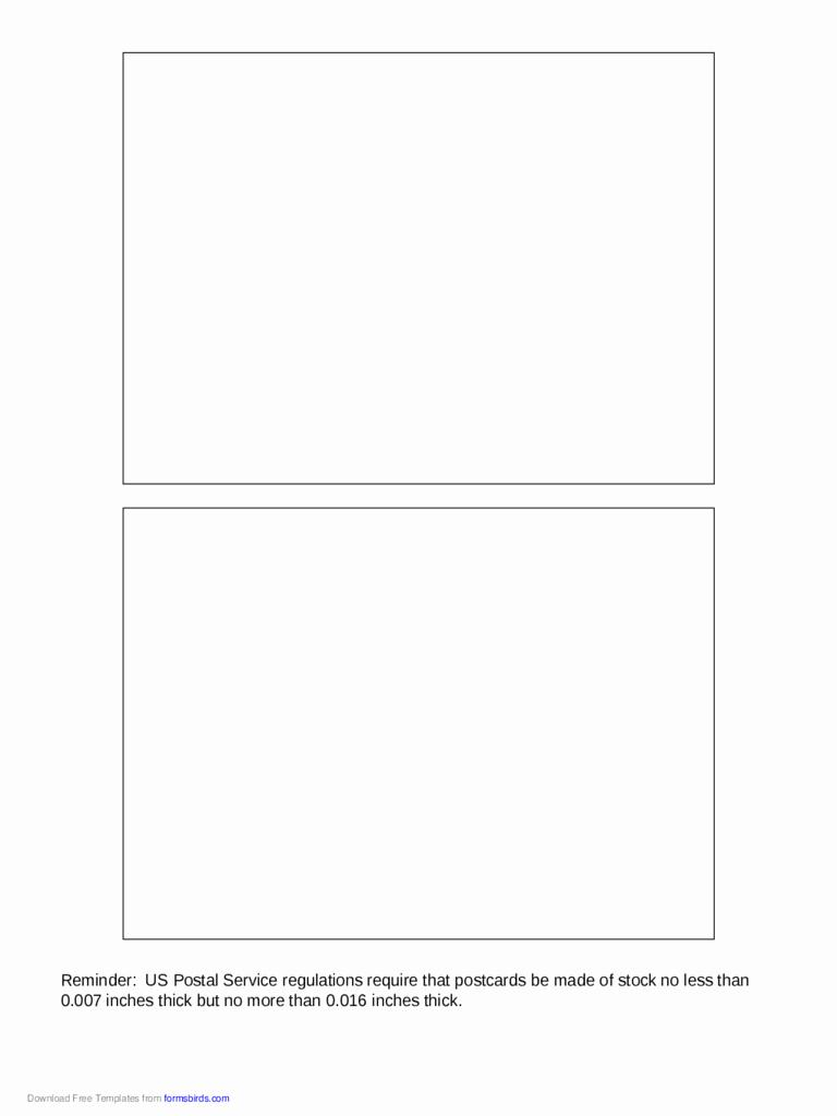 Back Of Postcard Template Lovely 2019 Postcard Back Template Fillable Printable Pdf