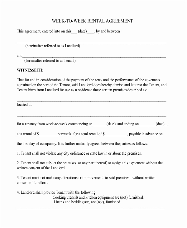 Basic Rental Agreement Pdf Lovely 25 Simple Rental Agreement Templates Free Word Pdf