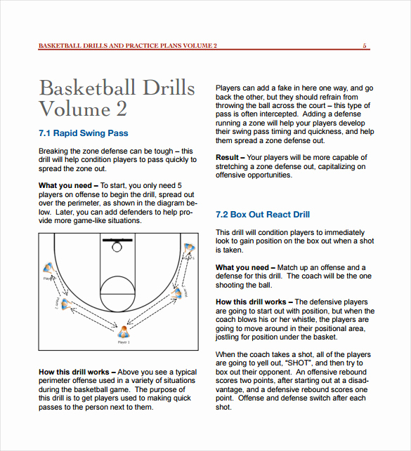Basketball Practice Plans Template Fresh 11 Basketball Practice Plan Templates Free Sample