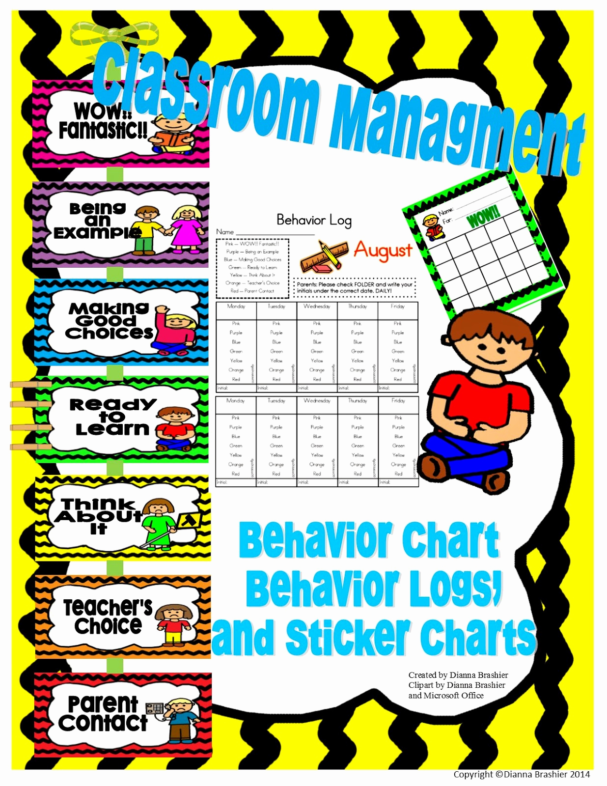 Behavior Charts for Teachers Awesome Teachers R Us Classroom Management Behavior Chart