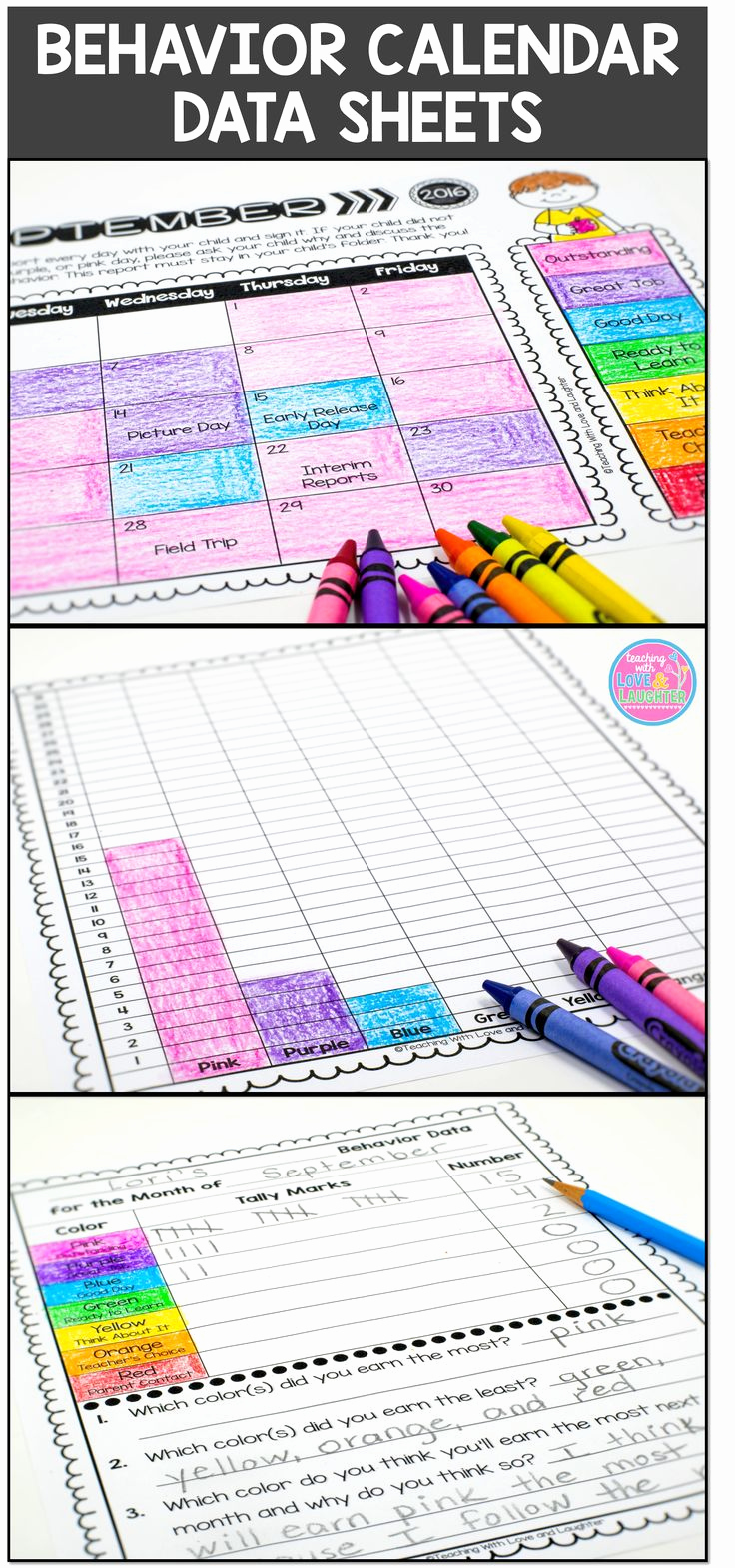 Behavior Charts for Teachers Best Of 25 Best Ideas About Behavior Sheet On Pinterest