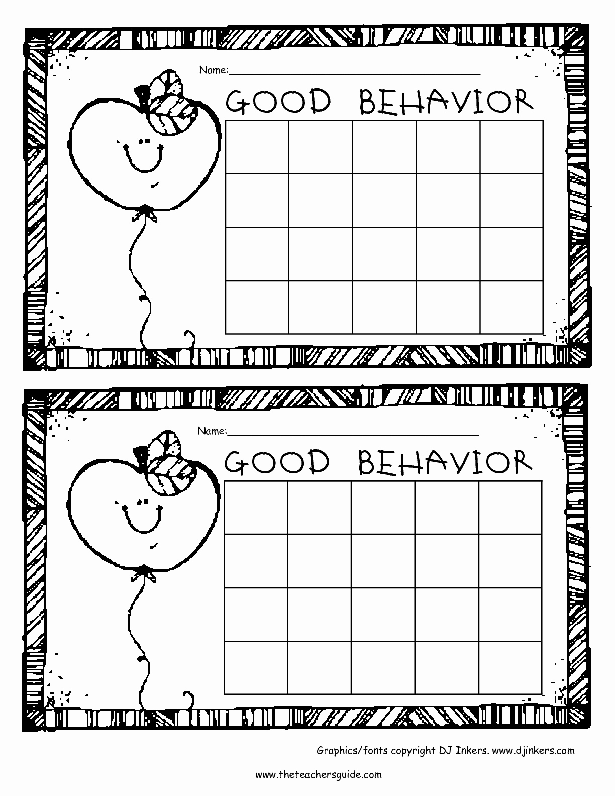 Behavior Charts for Teachers Elegant Free Printable Reward and Incentive Charts