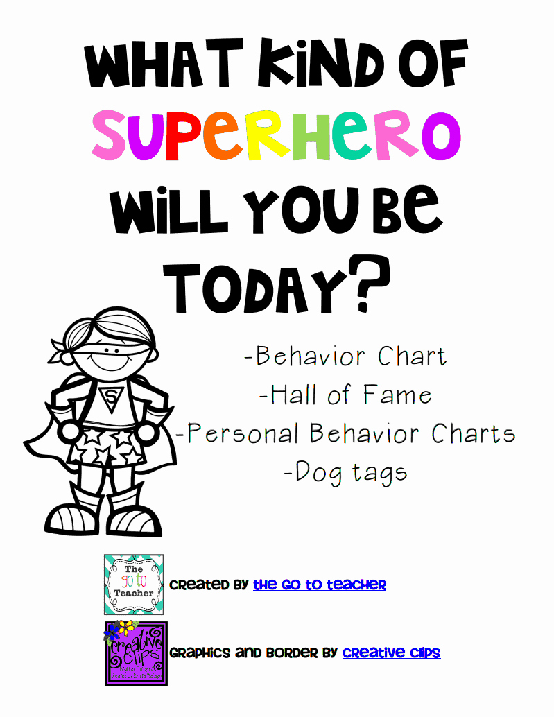 Behavior Charts for Teachers Elegant the Go to Teacher Classroom Management