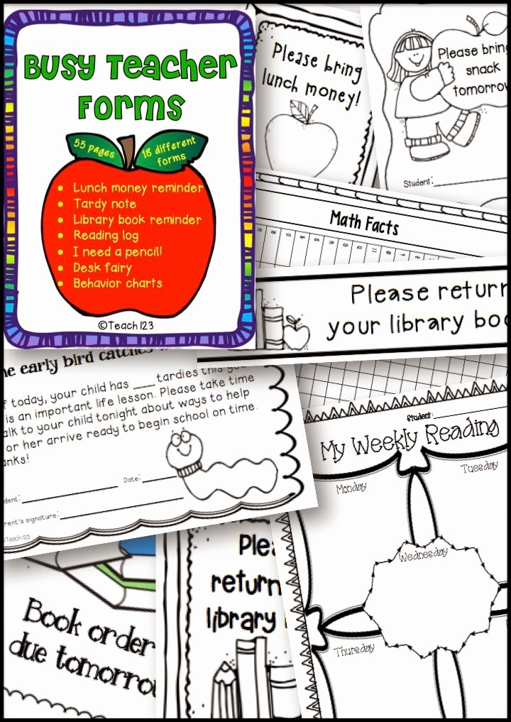 Behavior Charts for Teachers Unique Teach123 Tips for Teaching Elementary School Behavior
