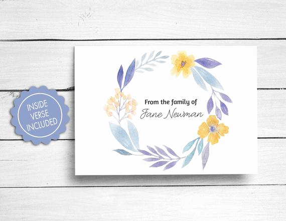 Bereavement Thank You Cards Lovely Sympathy Acknowledgement Cards Funeral Thank You Cards
