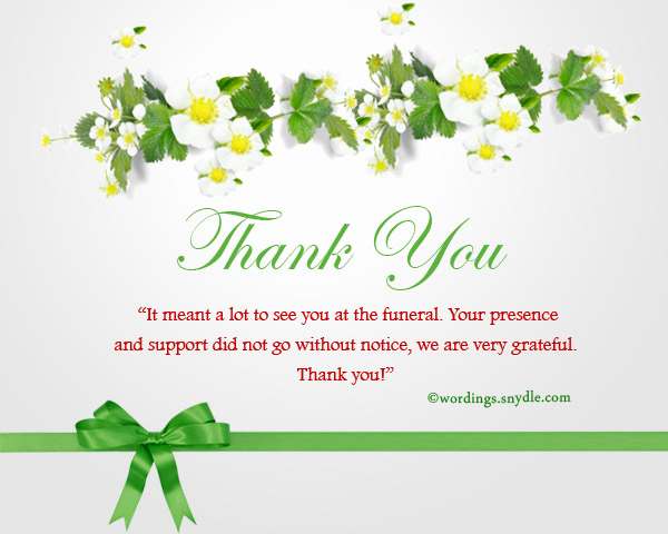Bereavement Thank You Notes Awesome Sympathy Thank You Notes Wordings and Messages