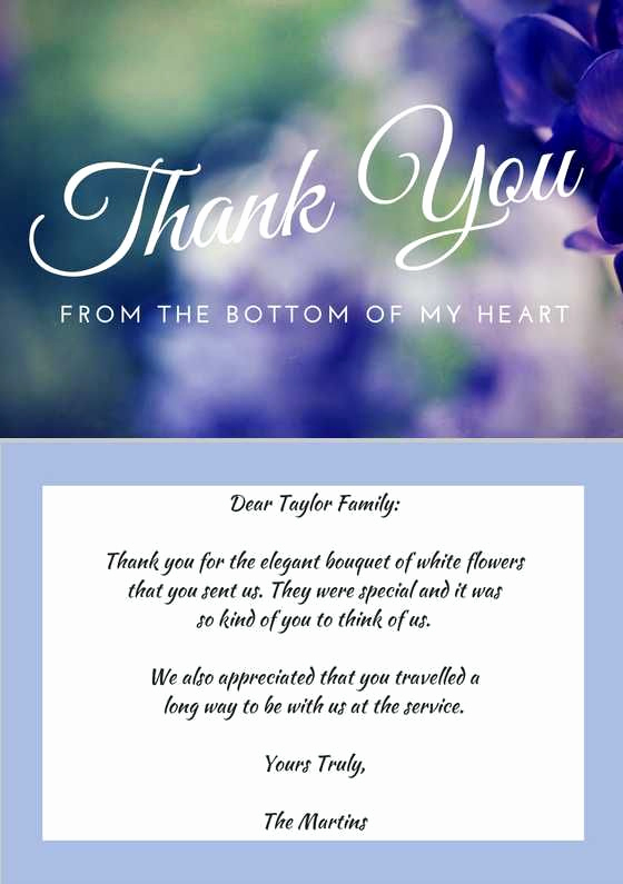 Bereavement Thank You Notes Fresh Best 25 Funeral Thank You Notes Ideas On Pinterest
