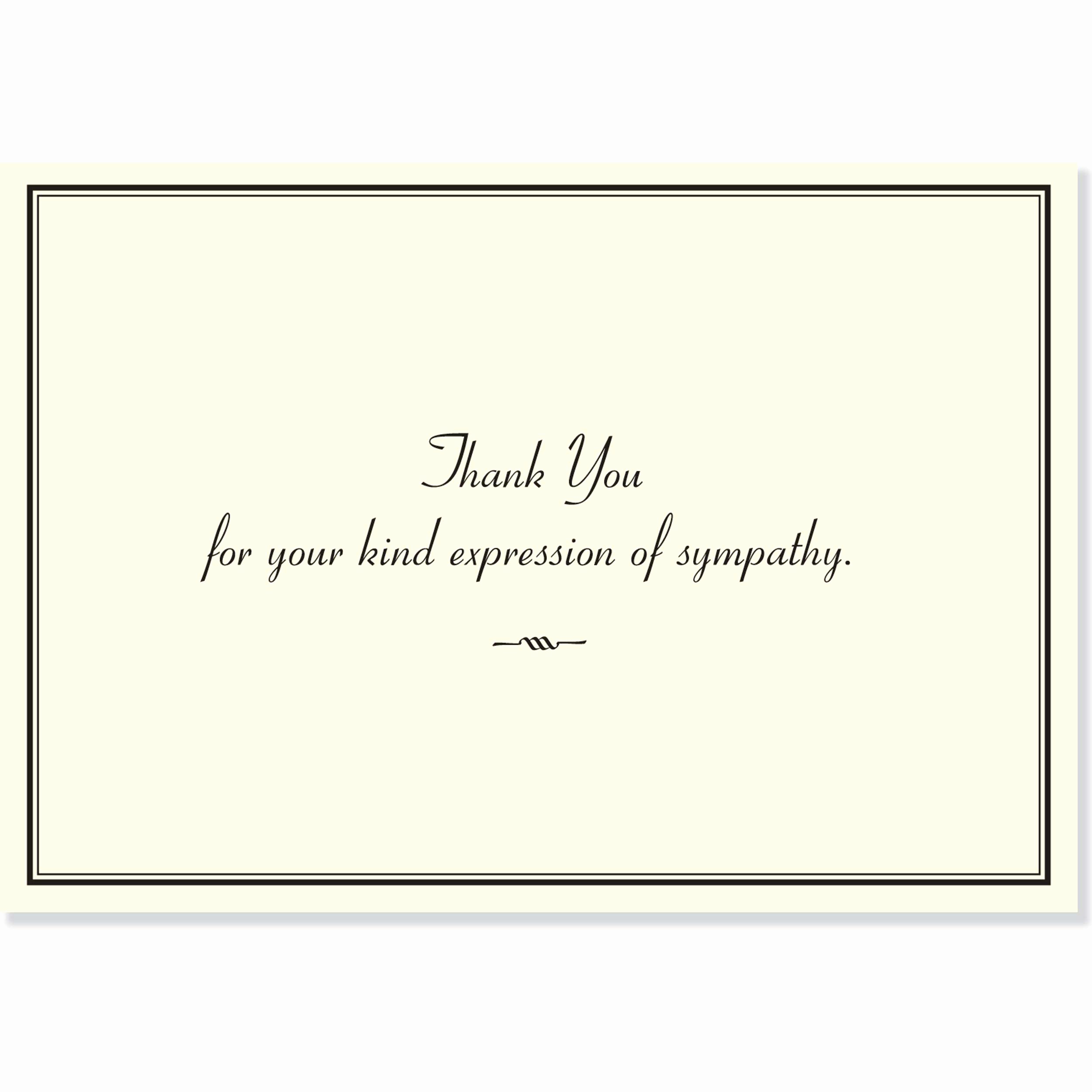 Bereavement Thank You Notes Fresh Sympathy Thank You Notes Stationery Note Cards Peter