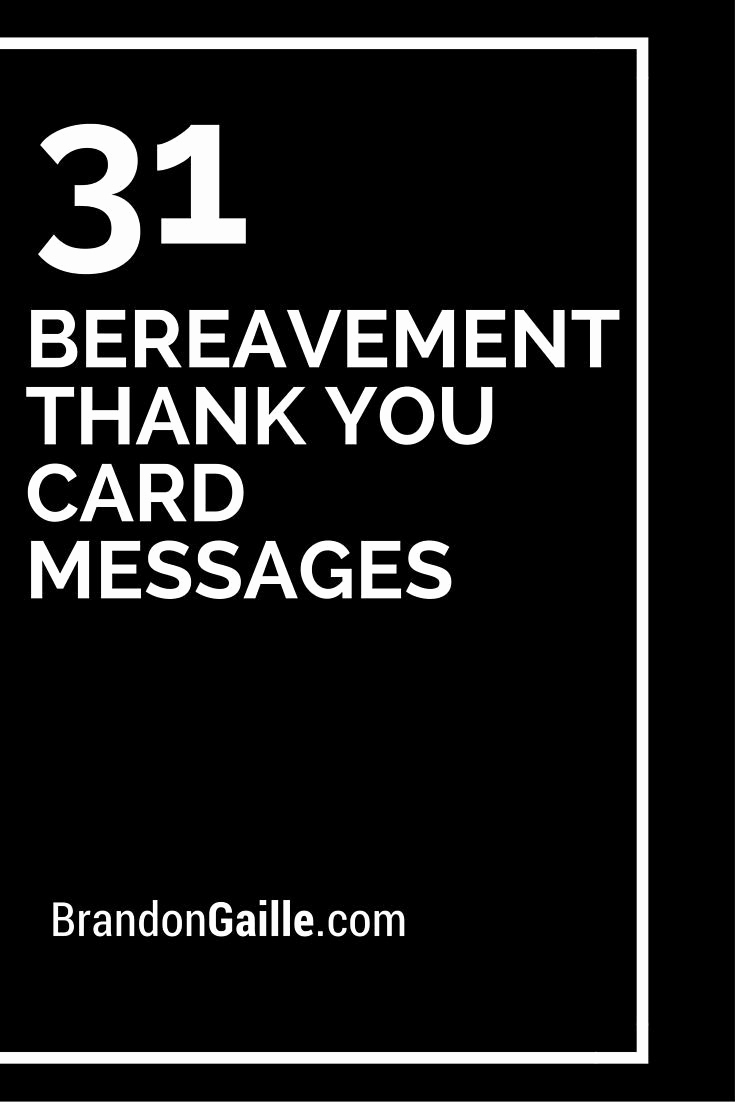 Bereavement Thank You Notes Luxury the 25 Best Funeral Thank You Notes Ideas On Pinterest