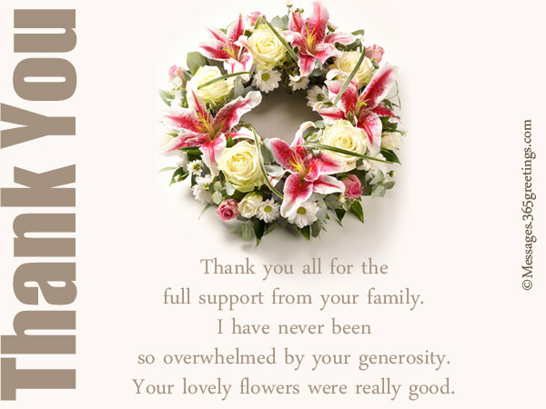 Bereavement Thank You Notes Unique Funeral Thank You Notes 365greetings