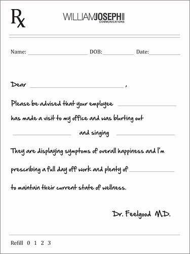 Best Fake Doctors Notes Best Of Doctor S Note