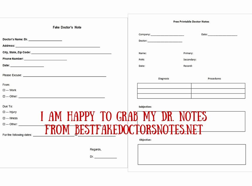 Best Fake Doctors Notes Unique 4 Easy Ways to Use A Fake Doctor's Note
