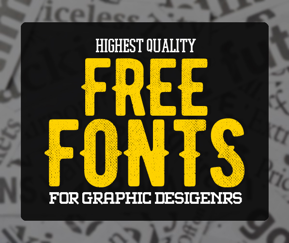 Best Fonts for T Shirts Unique 30 High Quality Free Fonts for Graphic Designers