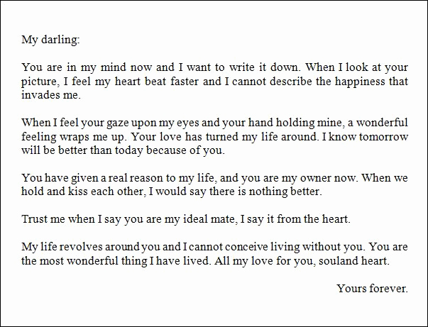 Best Love Letter to Girlfriend Fresh Best Love Letter for A Boyfriend thoughts
