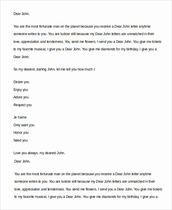 Best Love Letters for Her Inspirational Romantic Love Letter 5 Free Word Documents Download