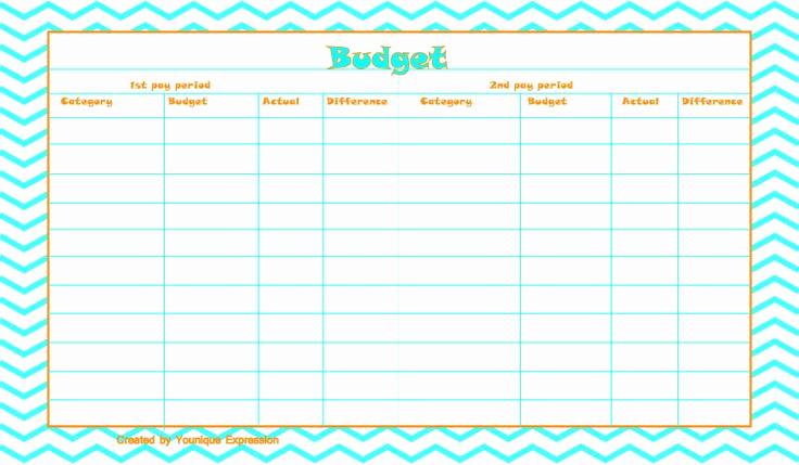 Bi Weekly Budget Template Fresh Best 25 Bi Weekly Pay Ideas On Pinterest