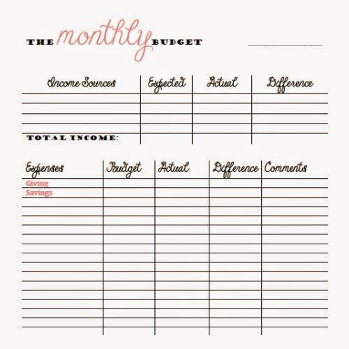 Bi Weekly Budget Template Lovely Free Monthly and Bi Weekly Bud Printables