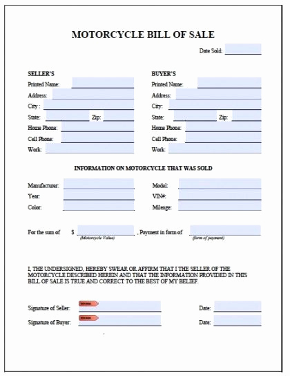 Bill Of Sale for Motorcycle Lovely 897 Best Legal Template Line Images On Pinterest