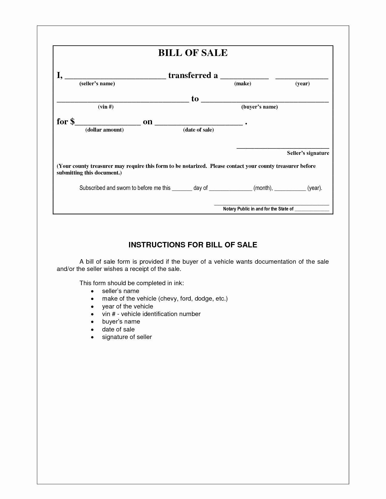 Bill Of Sale Free Inspirational Picture 5 Of 17 Example Bill Sale form