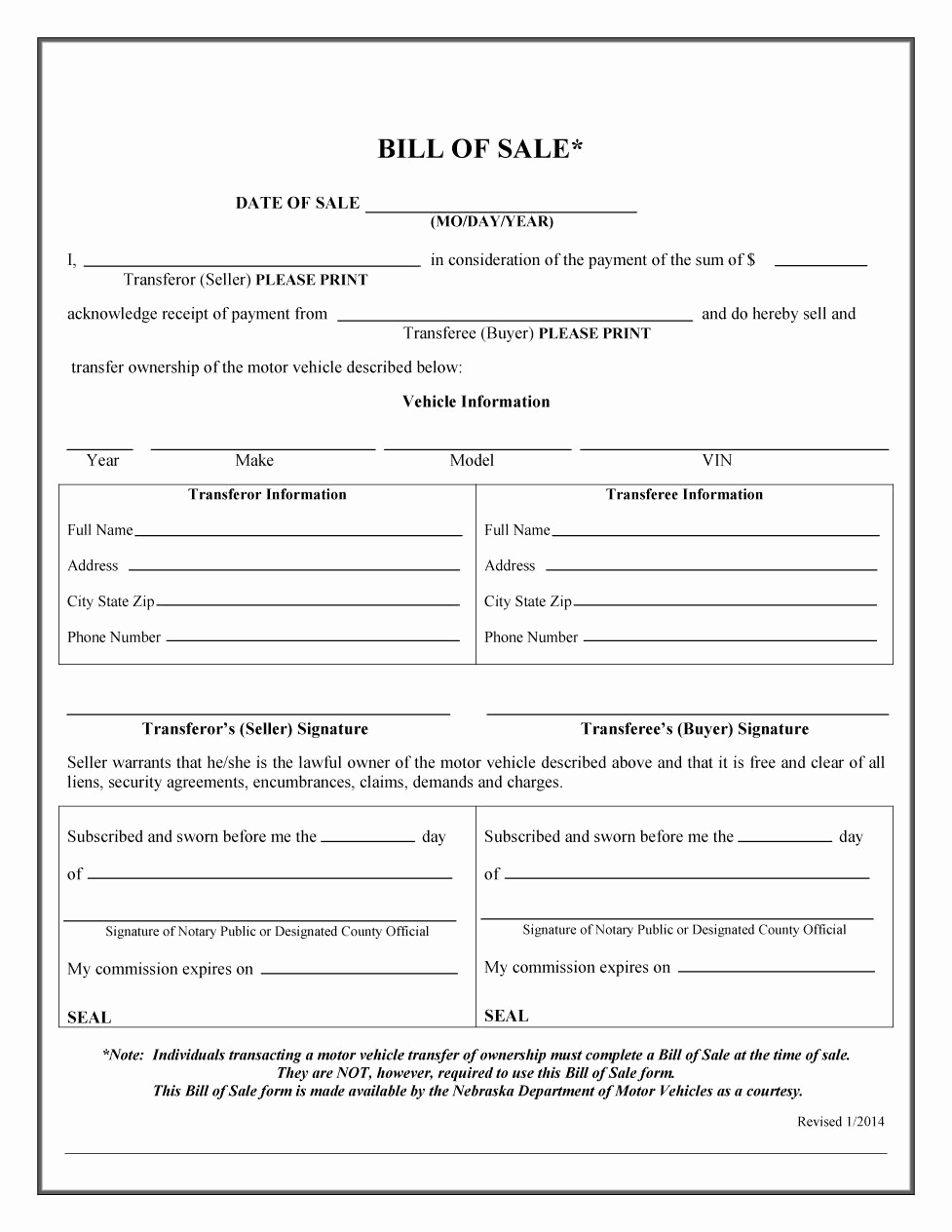 Bill Of Sale Printable Elegant 45 Fee Printable Bill Of Sale Templates Car Boat Gun