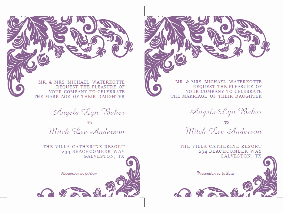 Birthday Invitation Templates Word Best Of Word Design Gallery Category Page 1 Designtos