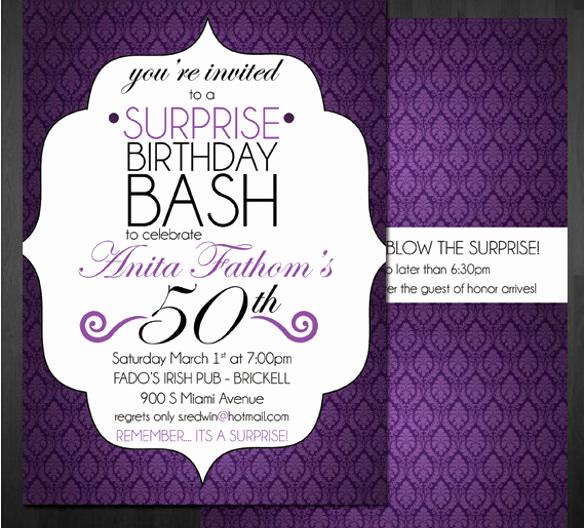 Birthday Invitation Templates Word Elegant 49 Birthday Invitation Templates Psd Ai Word