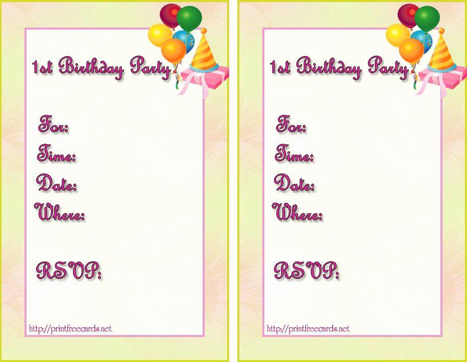 Birthday Invitation Templates Word Fresh Birthday Invitation Templates Birthday Invitation