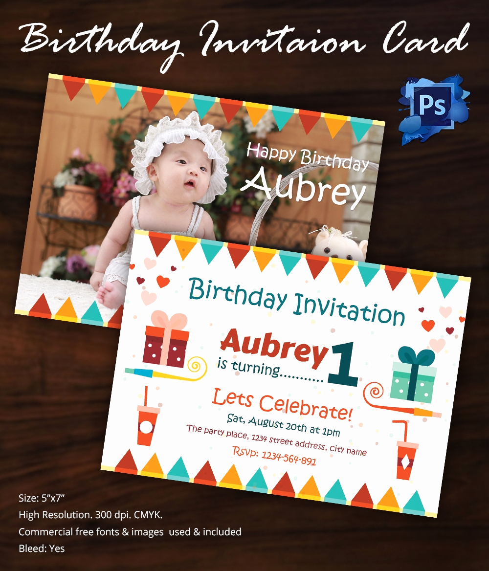 Birthday Invitation Templates Word Luxury Birthday Invitation Template 32 Free Word Pdf Psd Ai