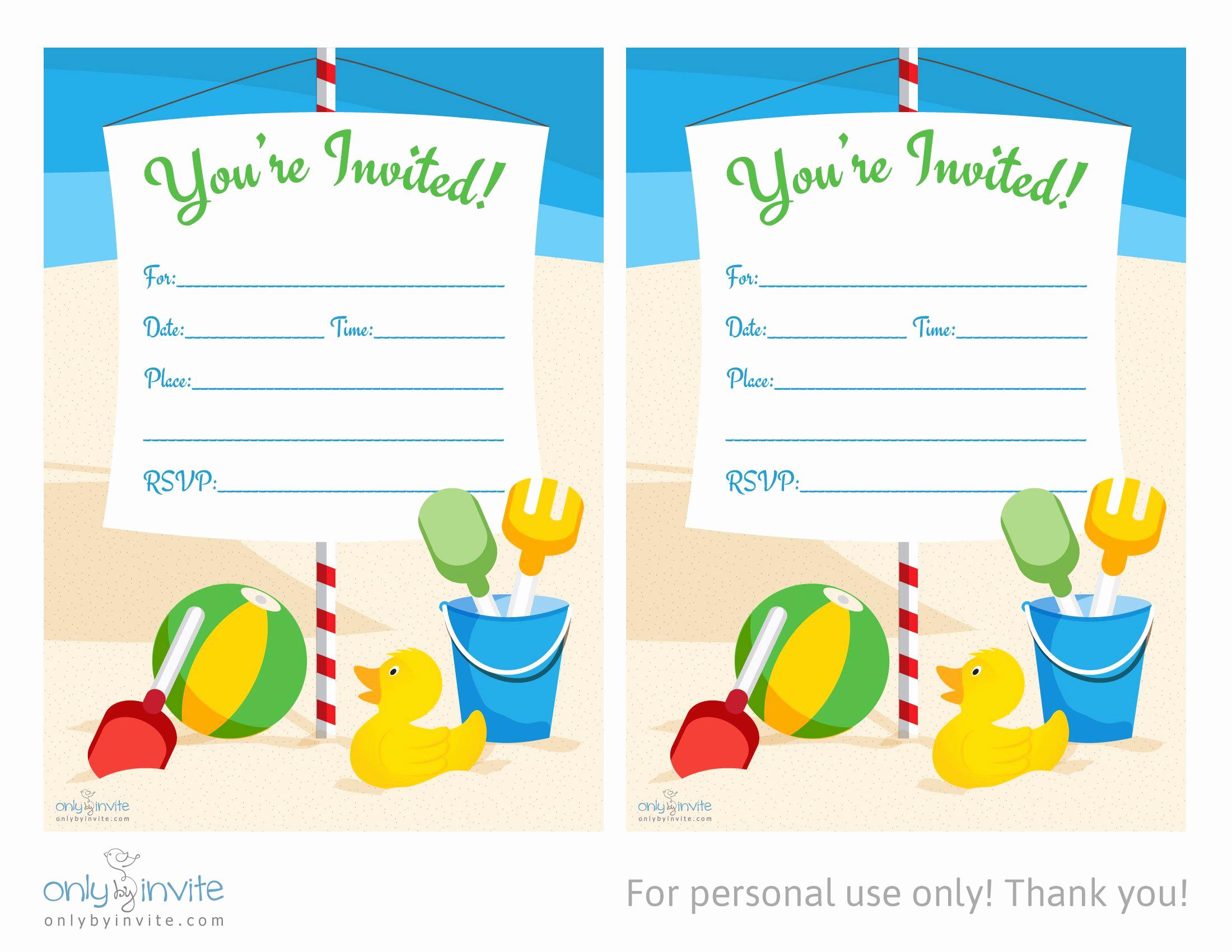 Birthday Invitation Templates Word New Card Template Blank Invitation Templates Free for Word